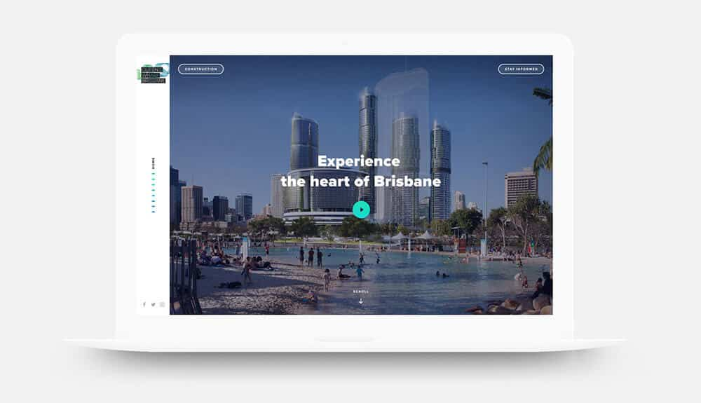 Queens Wharf Brisbane Website Design