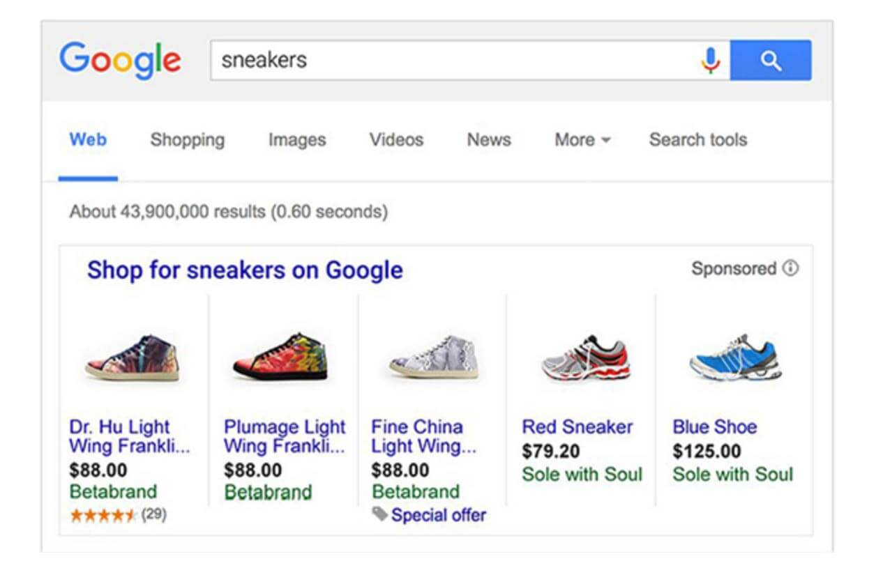 Digital Marketing Google Shopping Ads