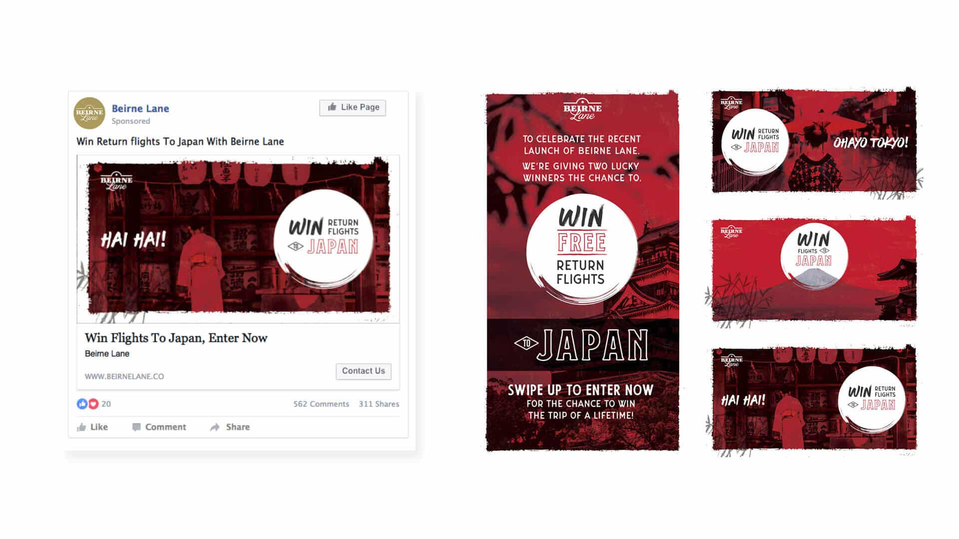 Beirne Lane Digital Campaign