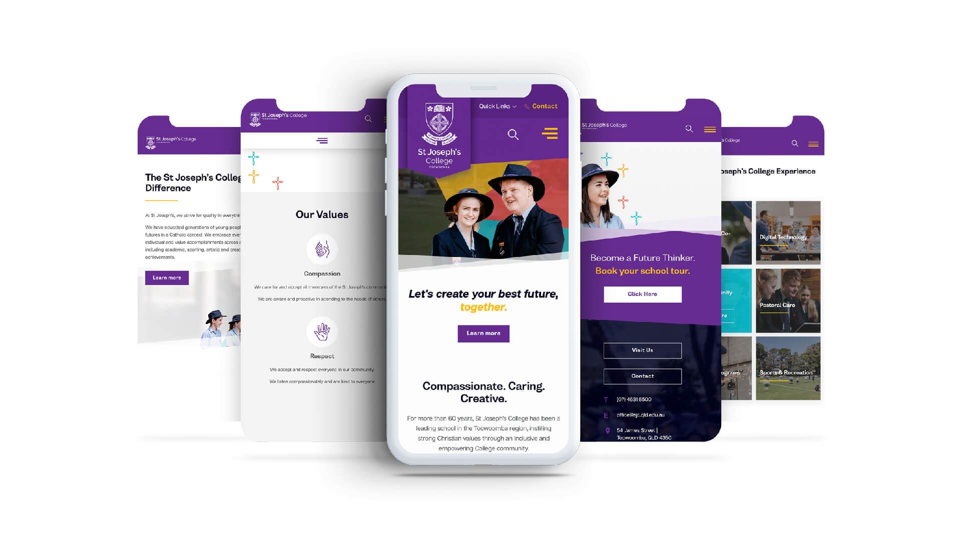 Web Design - St Joseph's College