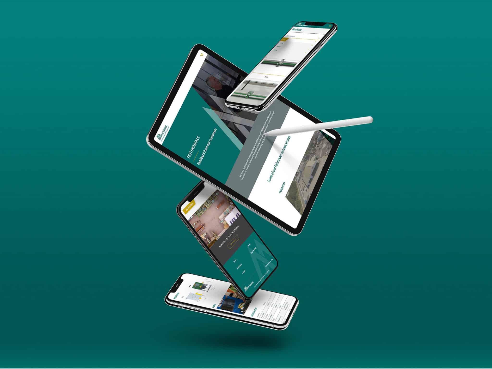 Multinail Website Design