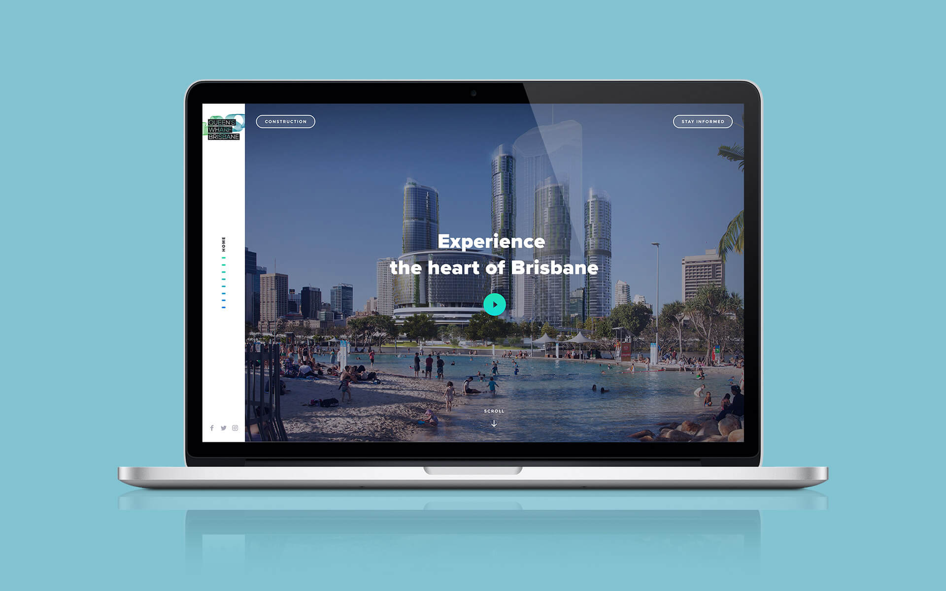 Queens Wharf Brisbane Web Design 01