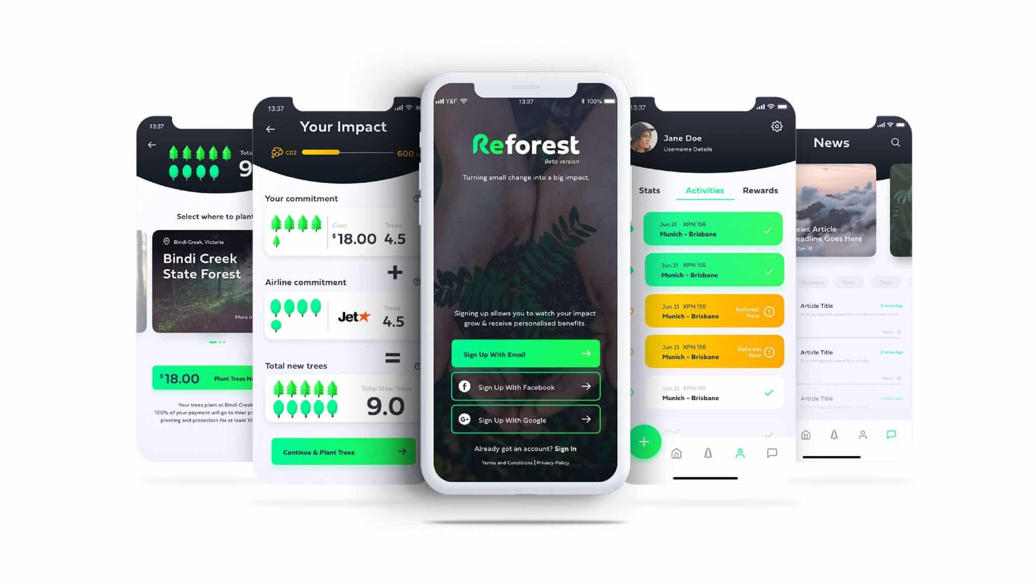 Reforest Brand Design Brisbane