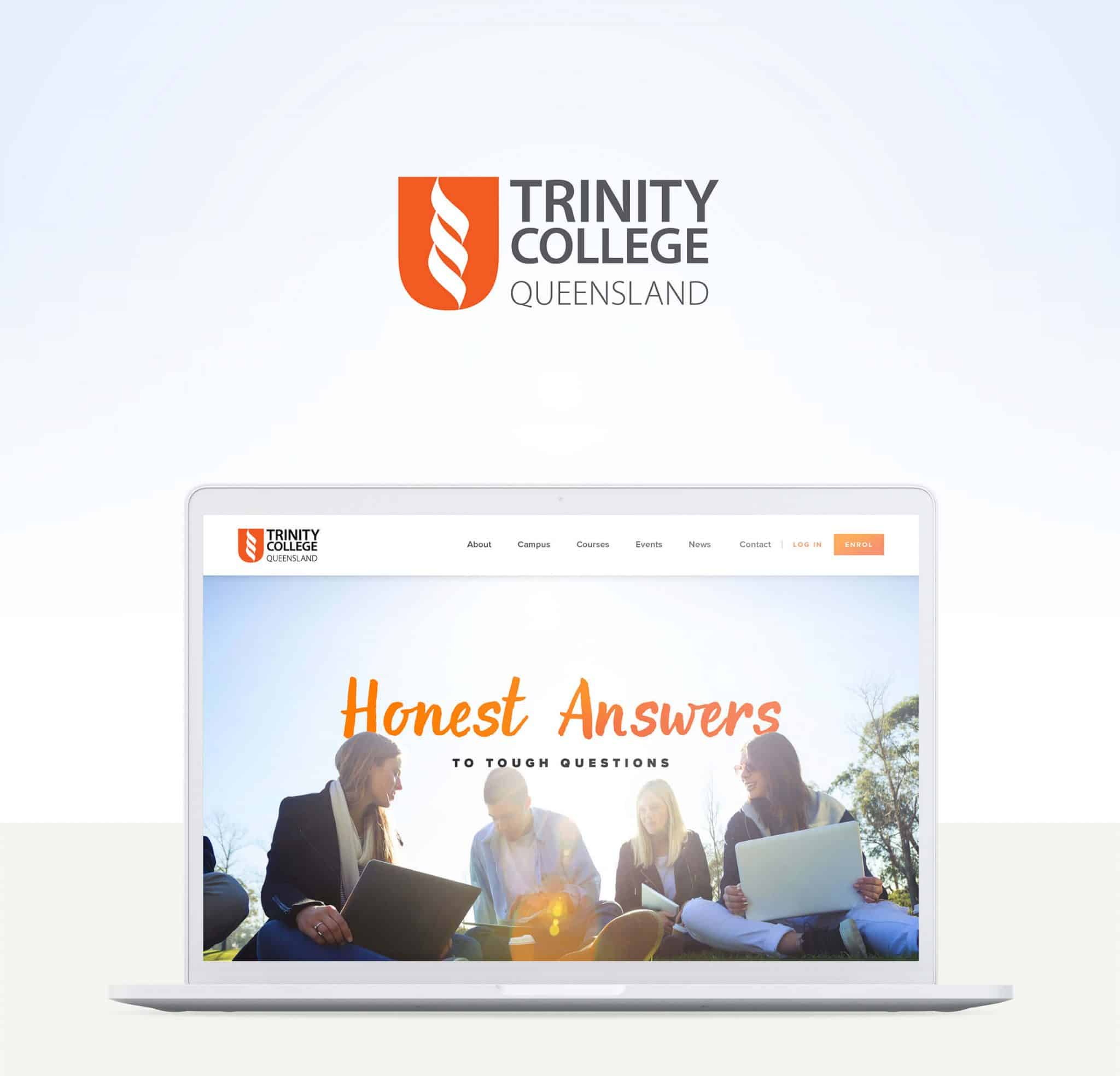 Trinity College Queensland Branding