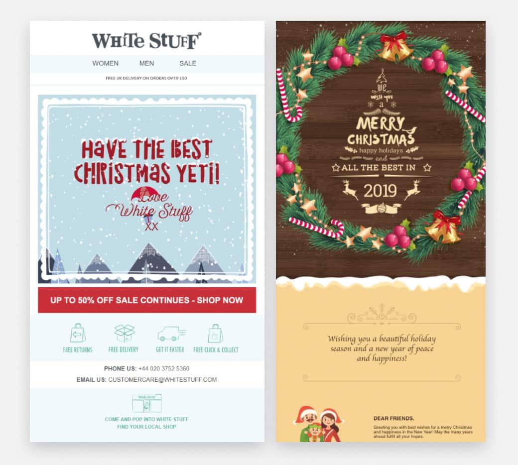Christmas Brand Emails