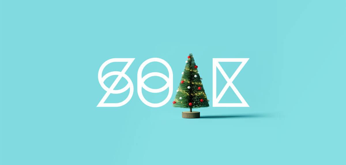 Soak Creative Christmas Branding