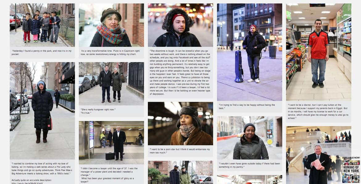 Harketing and Humans of new york