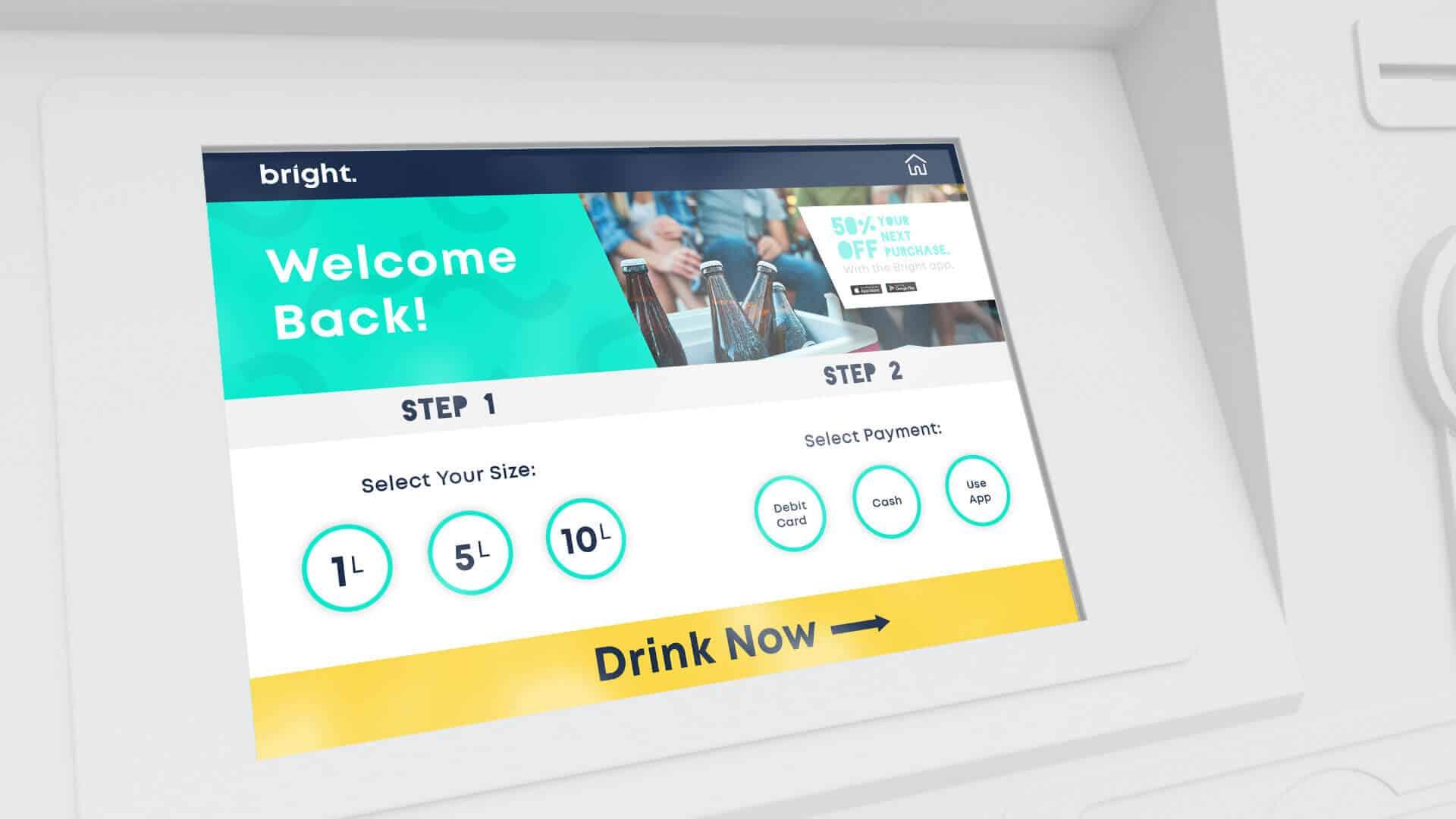 Bright Ice App Design Brisbane